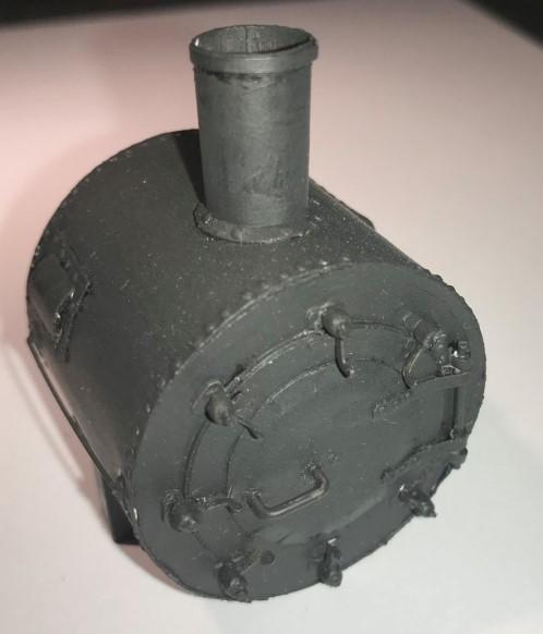 Modelik Tkt2 (T14.1) Lokomotive gebaut von chrisburton Smokeb13