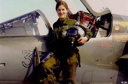 Virginie Guyot, leader de la Patrouille de France en 2009  1203_v10