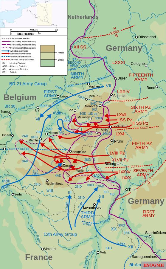 16 décembre 1944 La contre offensive des Ardennes 557px-10