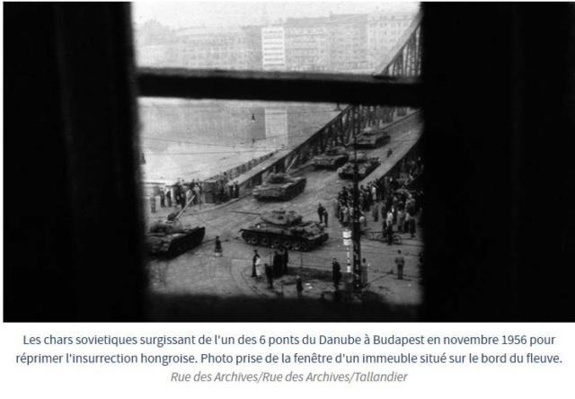 4 novembre 1956 : Les chars soviétiques entrent dans Budapest Budape10