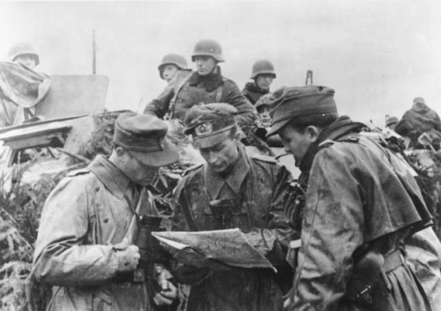 16 décembre 1944 La contre offensive des Ardennes Bundes10