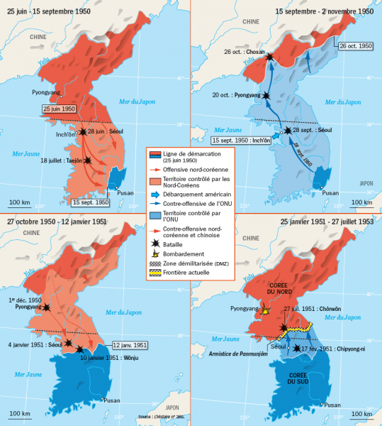 La guerre de Corée, 1950-1953 Corzoe10
