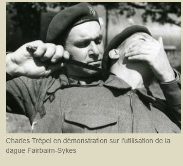 Capitaine Charles TREPEL  Commando de France  Dague_10