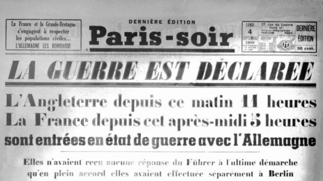 Drôle de guerre (1939).  Declar10