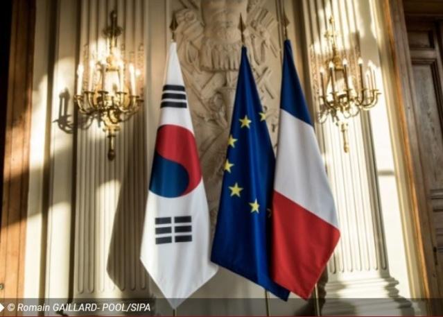 Des masques pour un vétéran de Corée Drapea10