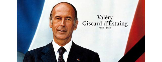 Décès du Président Valery Giscard d'Estaing Giscar10