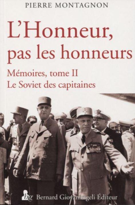 Livre : L'honneur, pas les honneurs… Honneu11