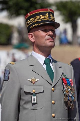 Le général Alain Lardet a pris le commandement de la Légion étrangère Lardet10