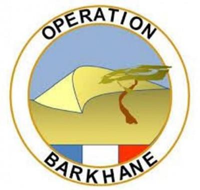 Un tour sur le terrain avec Barkhane Logo-b10