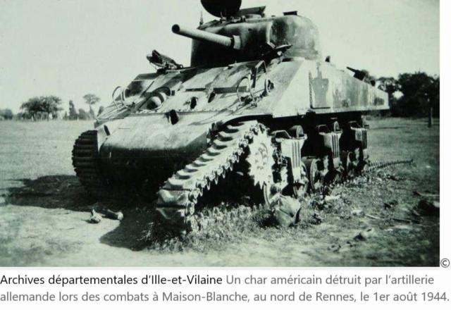 Ce jour-là : du 1er au 3 aout 1944 la bataille de Maison Blanche Mblanc10