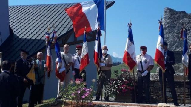 Les Saisies en Savoie, Hommage 2014, 2020, l'AAMCI y était. Monum_12