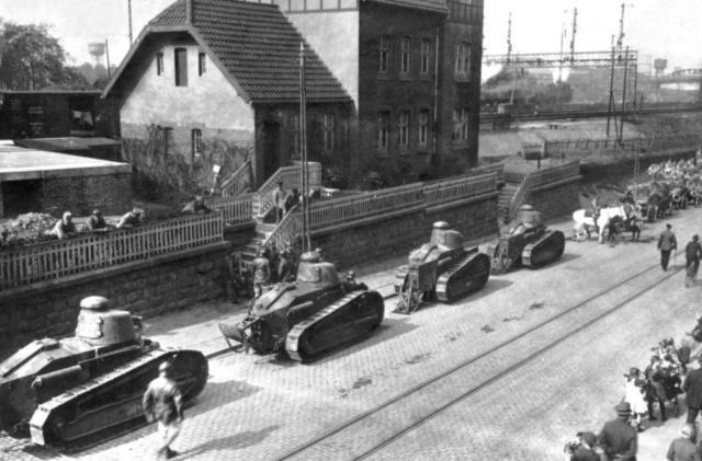 11 janvier 1923 : Les Français occupent la Ruhr Occup10