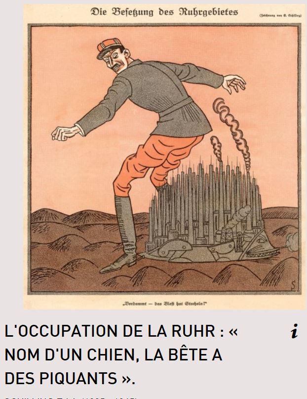 11 janvier 1923 : Les Français occupent la Ruhr Occup210
