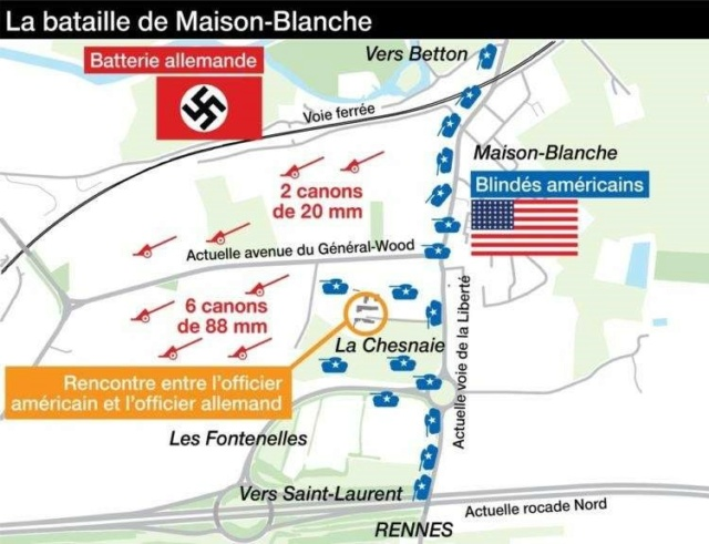 Ce jour-là : du 1er au 3 aout 1944 la bataille de Maison Blanche Plan_m10
