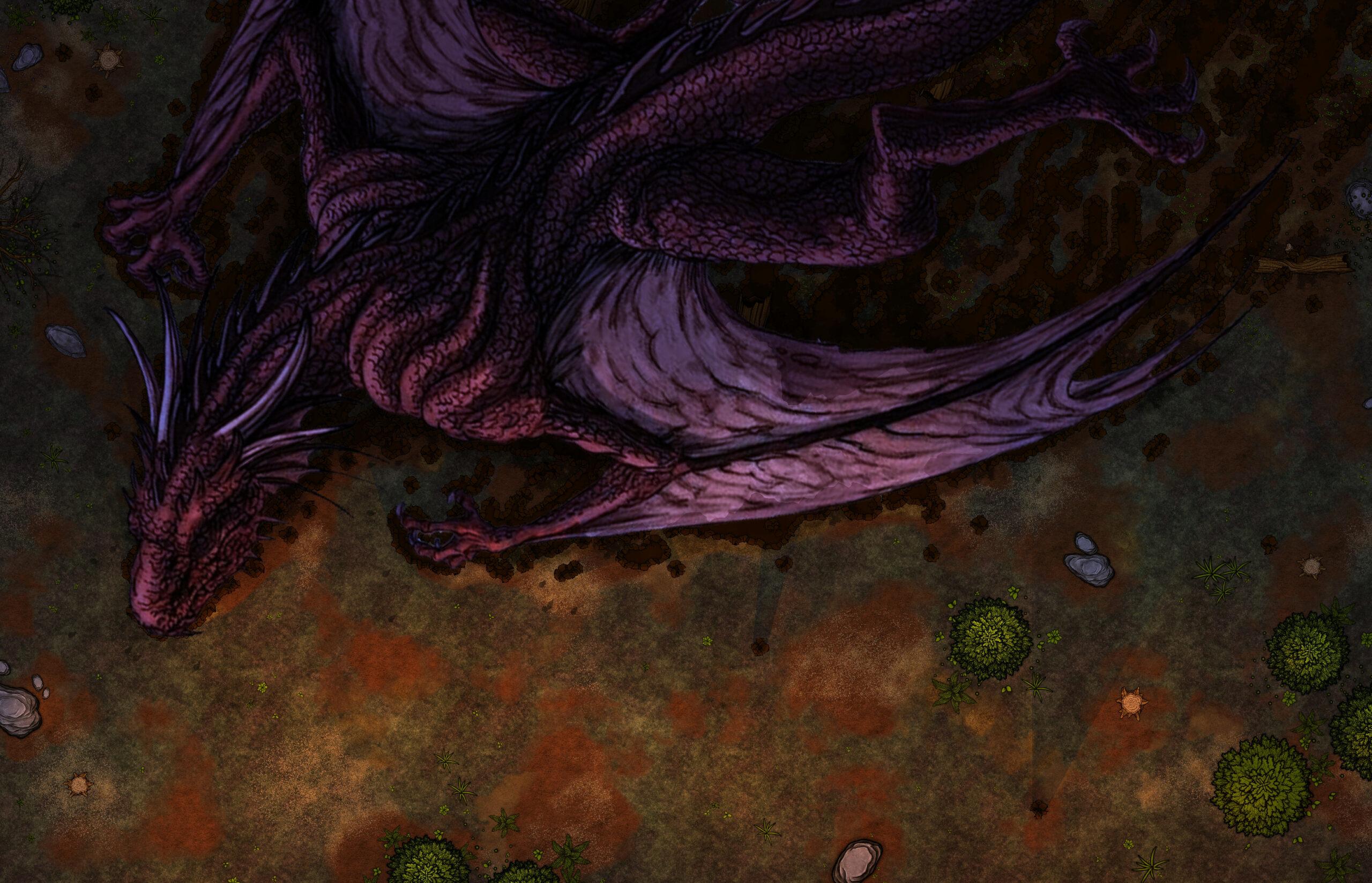Mes battle maps maison ! Dragon10