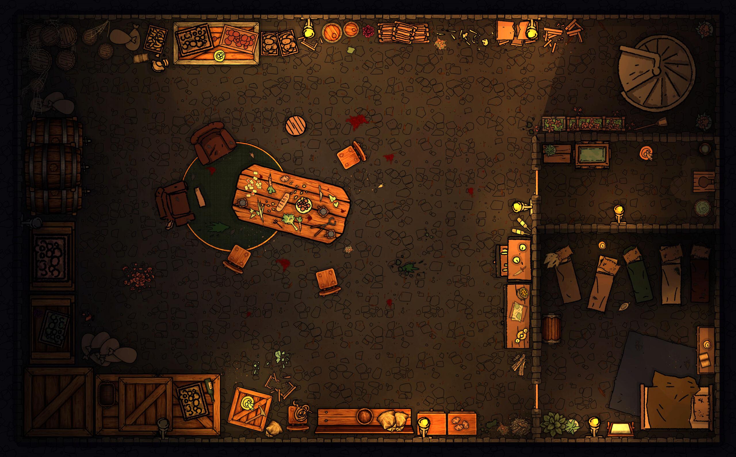 Mes battle maps maison ! Hommes10