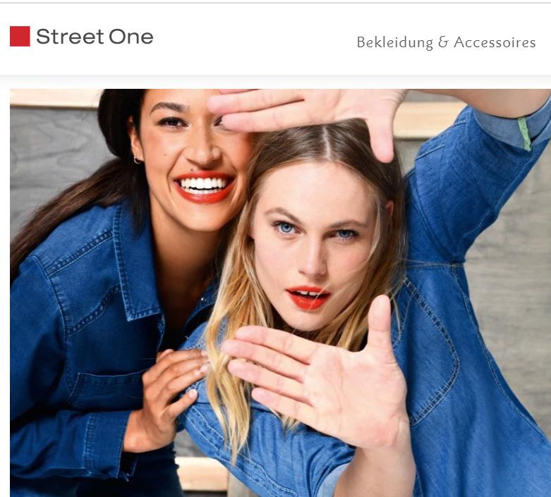 Werbung in Prospekten, Katalogen, auf der Strasse Street10