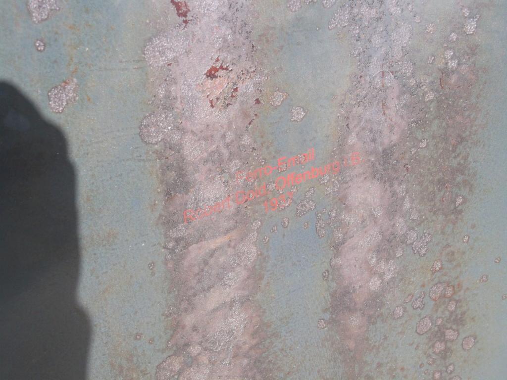 3 plaques emmaillé allemande ww2 pour identification Dscf8112