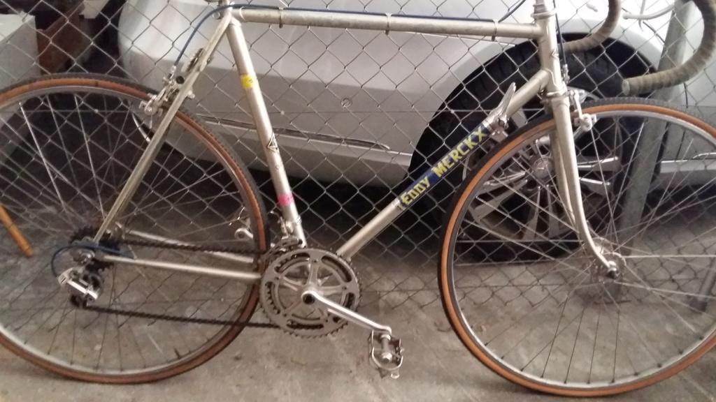 Comment identifier un modèle de vélo Eddy Merckx 20200411