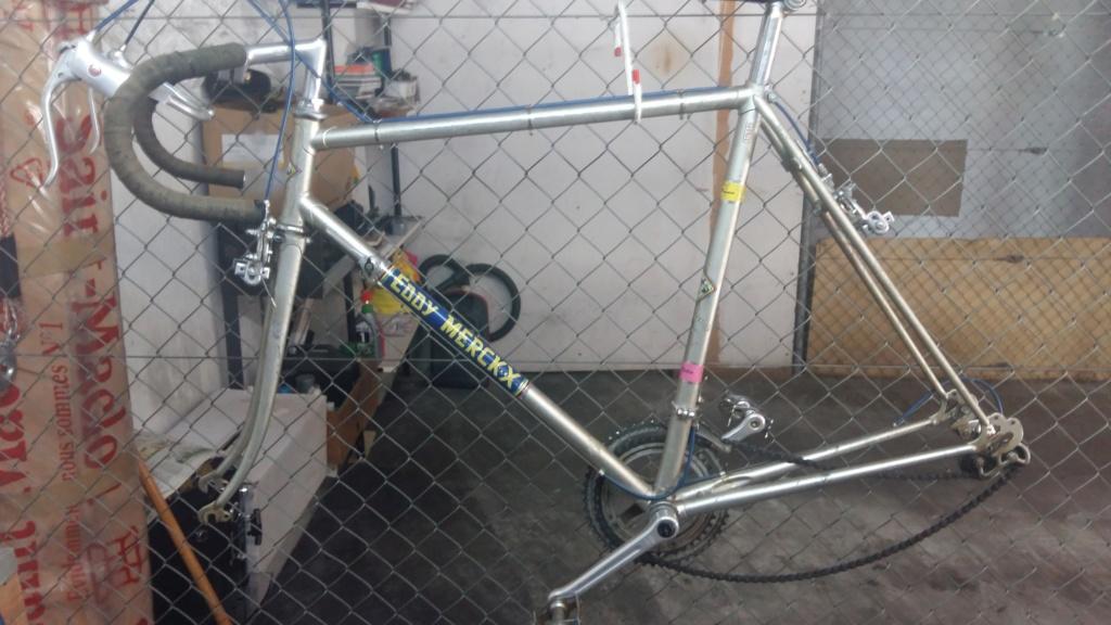 Comment identifier un modèle de vélo Eddy Merckx 20200434
