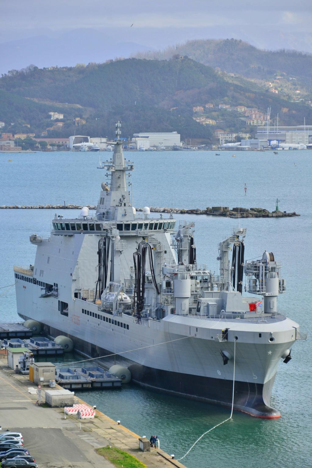 Bâtiment de soutien logistique classe Vulcano Vulcan11