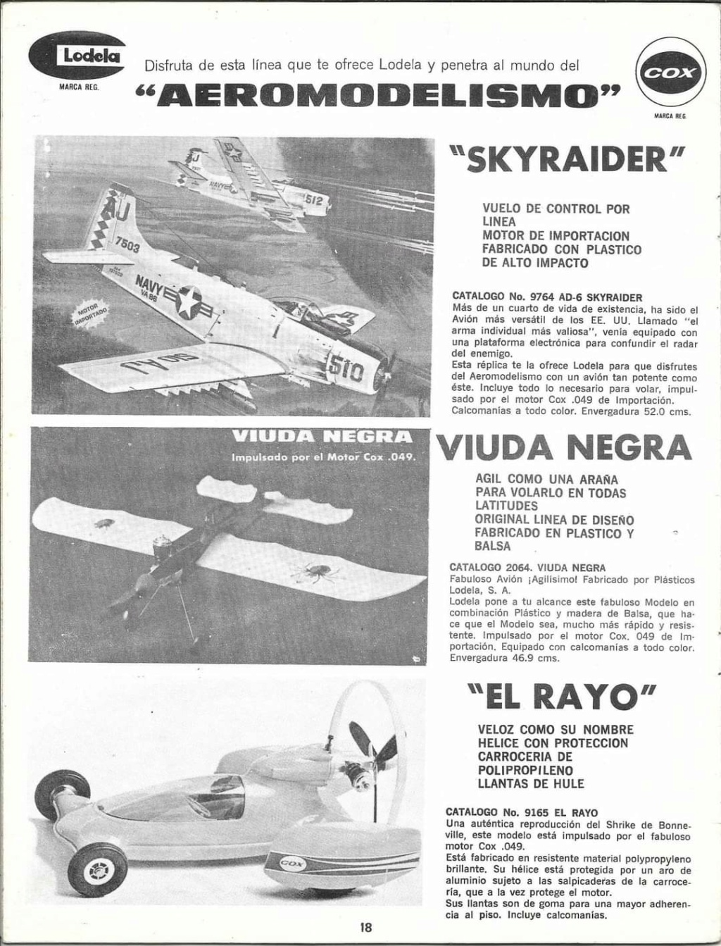 """EXTREMELY RARE COX THIMBLE DROME PROTOTYPE """"BLACK WIDOW"""" GAS MODEL AIRPLANE - Page 4 Fb_img10"""