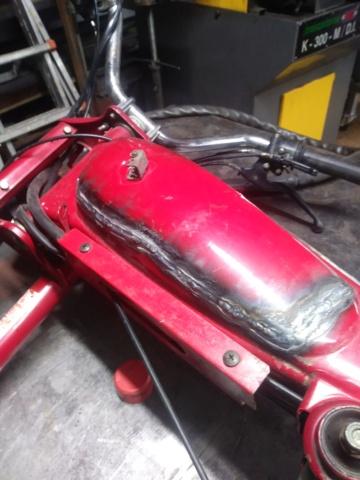 Reparación depósito incorporado a chasis 20210311