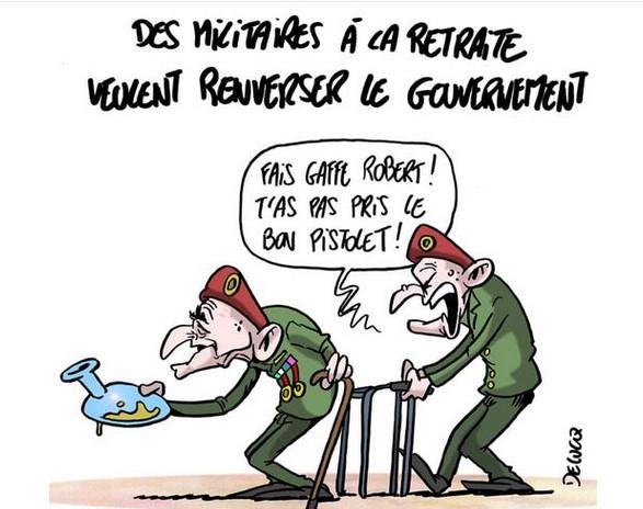 LA TRIBUNE DES GENERAUX .... Captur92