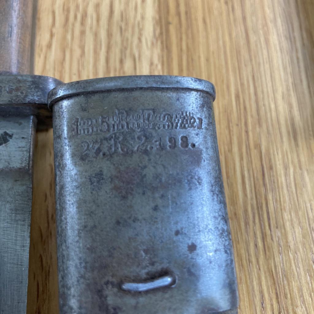 Baïonnette 84/98 WW2  580d8310