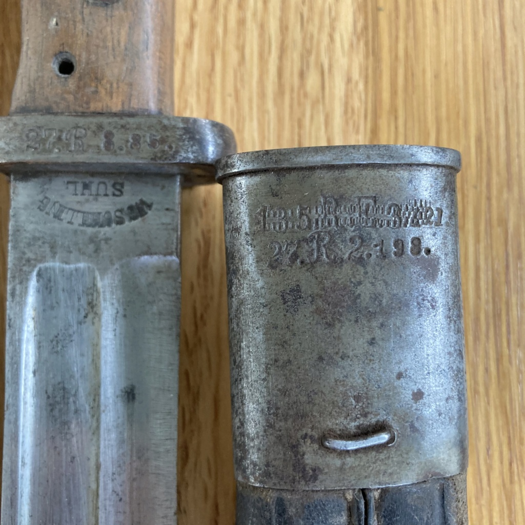 Baïonnette 84/98 WW2  Aad73b10