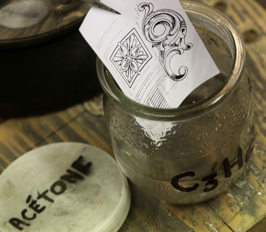Transfert précis et solide d'une impression LASER sur métaux et autres matériaux. 4_tran10