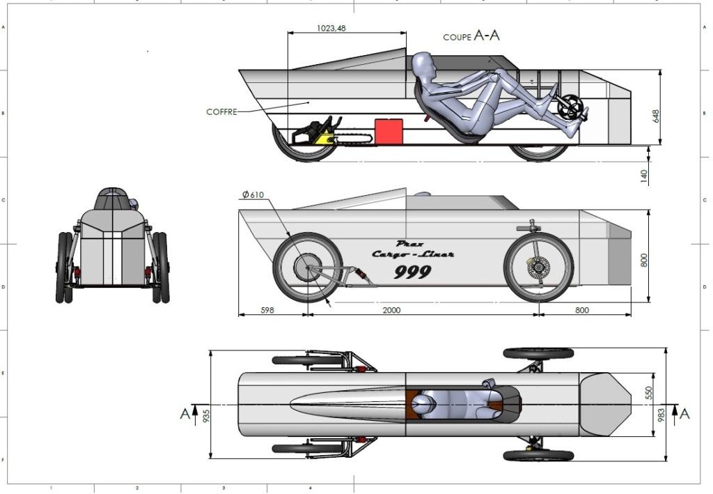 Projet de vélo cargo couché Plan_310