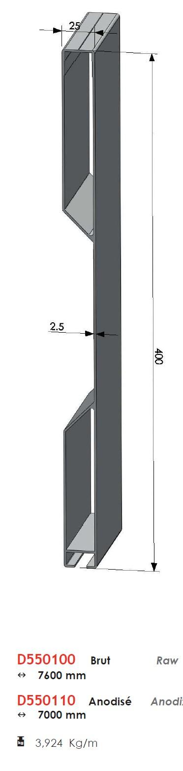 Projet de vélo cargo couché Profil10