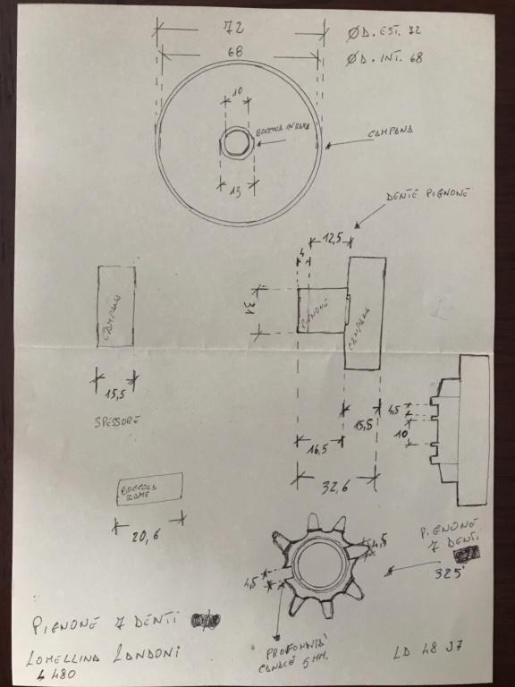 Lomellina L480 campana e frizione (AIUTO) 23686410