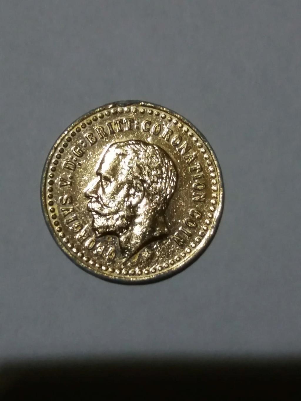 Reino Unido 1 libra (soberana), 1911-1927 (Oro falso) Oro_fa11