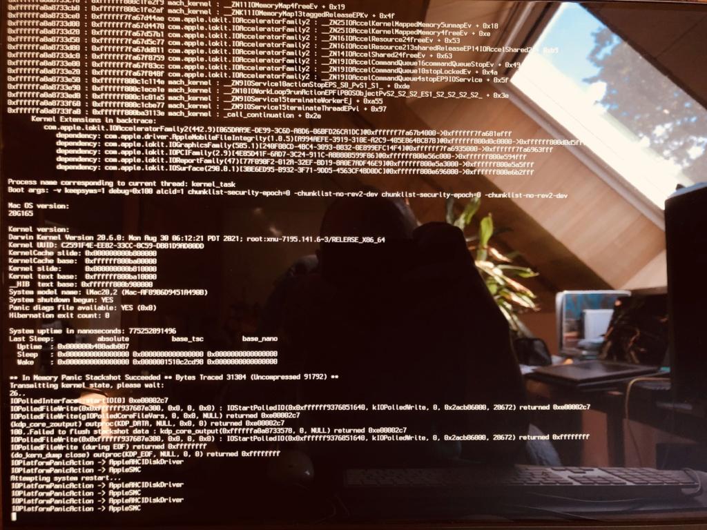 Ecran noir au load de L'OS - Page 2 Img_5916