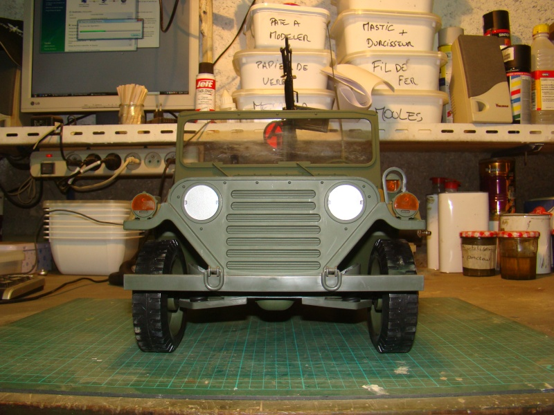 JEEP DRAGON au 1/6  version Jeep Armée du 5 RC en Indochine - Page 3 Jeep_m11