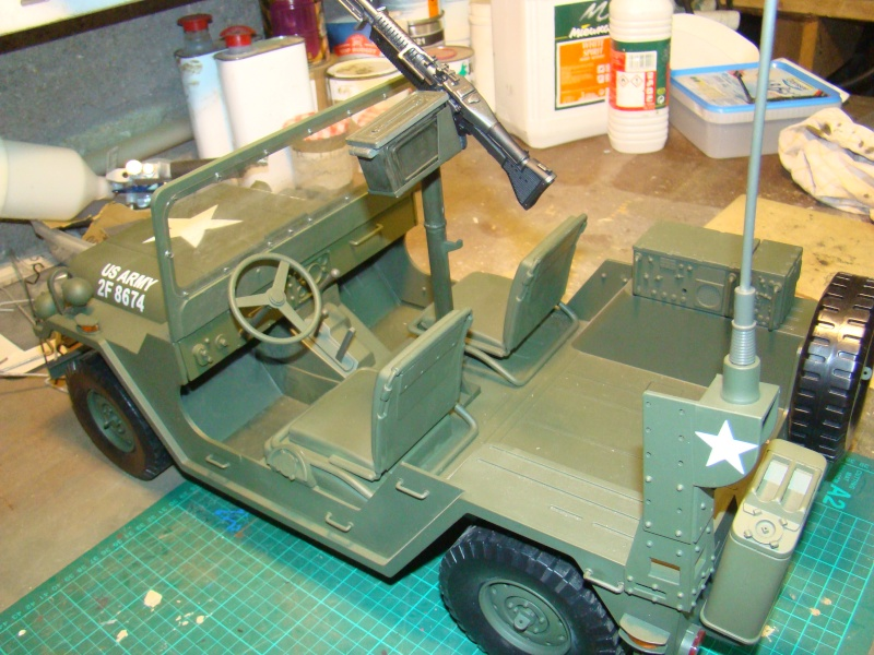 JEEP DRAGON au 1/6  version Jeep Armée du 5 RC en Indochine - Page 3 Jeep_m14