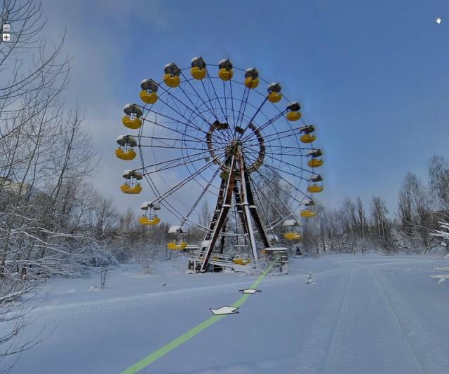 Pripyat, Ukraine Roue10