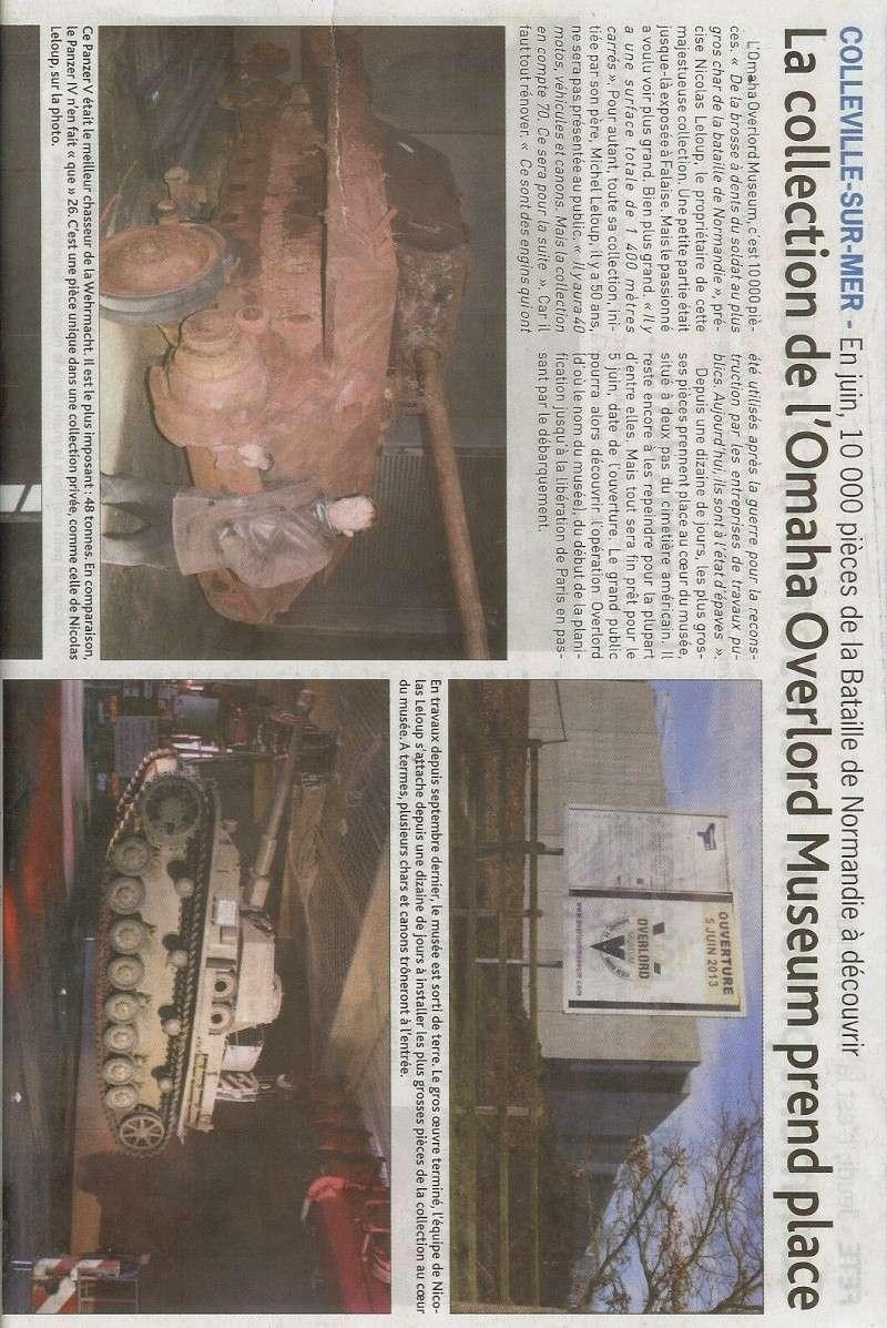 Nouveau musée à Colleville sur Mer M110