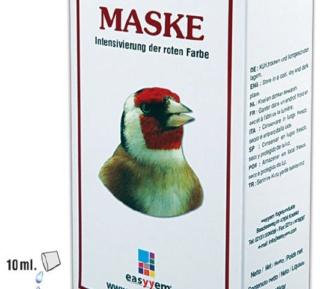 coloration des chardonnerets  Maske10