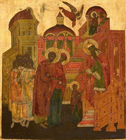 Sainte Fête de la Présentation de Marie! Prasen15