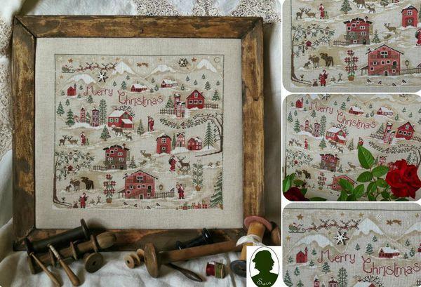 Christmas Village Sara SAL libre  90015610