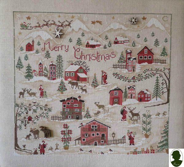Christmas Village Sara SAL libre  90015710