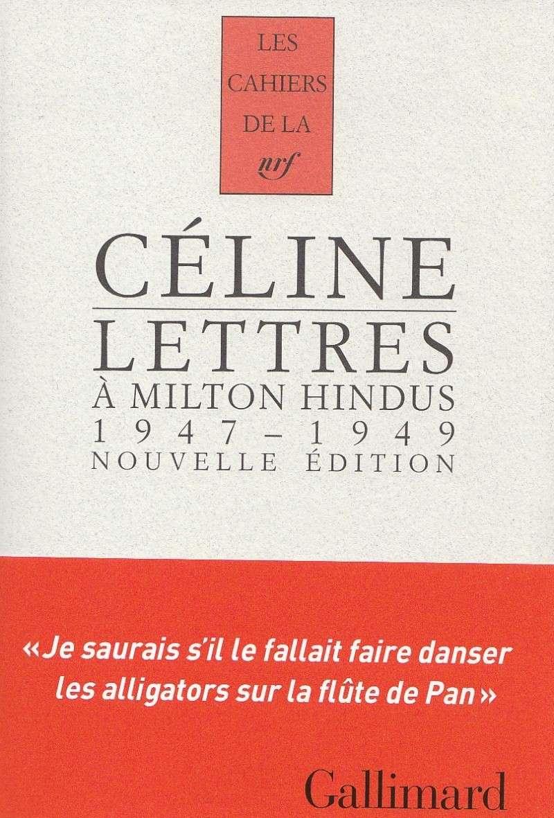 CELINE: Lettres à Milton Hindus Celine11