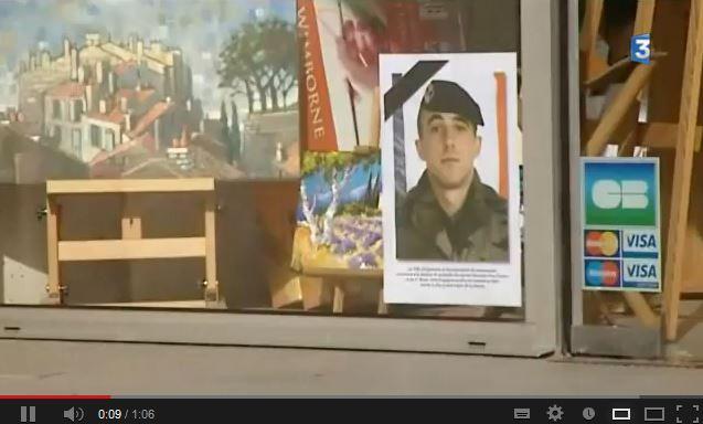 Caporal Van Dooren  du 1er RIMa d'Angoulème tué au combat au sud de Tessalit un cinqième soldat au Mali Mali_v11