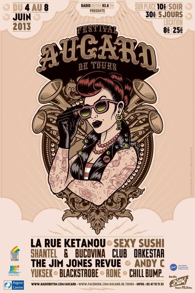 [4 > 8/06/13] 28ème édition du festival Aucard de Tours Affich10