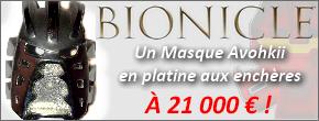 [Culture] Un masque BIONICLE en Platine à 21.000€ ! Retour sur les objets rares Avohki10