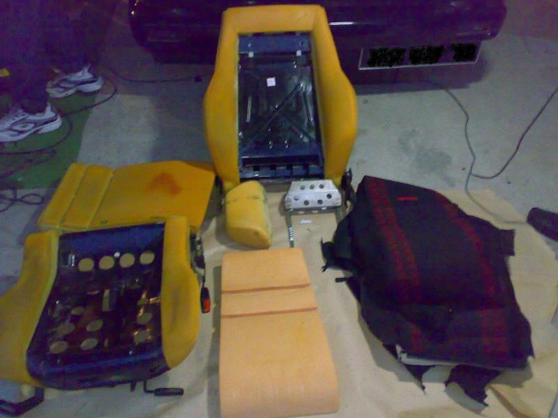 restauration + tbd corrado + prepa turbo sur mon sportline Divers22