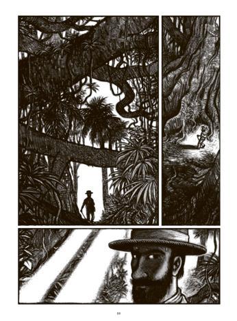 Kongo, le ténébreux voyage de Józef Teodor Konrad Korzeniowski de Tirabosco et Perrissin 07_gal10